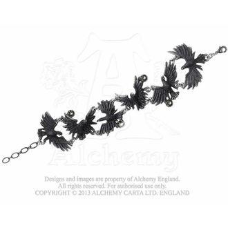 Armband Flocking Ravens - ALCHEMY GOTHIC - A101