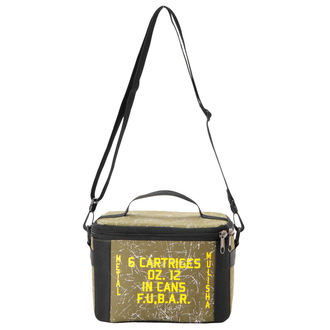 Thermotasche METAL MULISHA - SLEDGE HAMMERED COOLER, METAL MULISHA