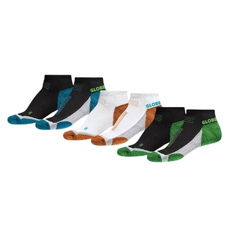 Socken GLOBE - LEFT AND RIGHT SOCK 3 PACK, GLOBE