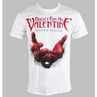 Herren T-Shirt   Bullet For My Valentine - Temper Temper Blood Hands - BRAVADO EU, BRAVADO EU, Bullet For my Valentine