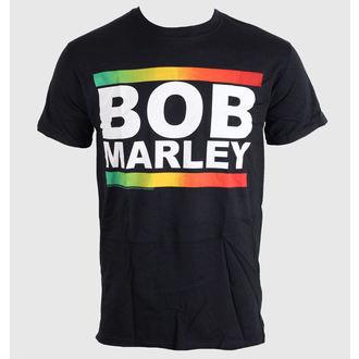 Herren T-Shirt   Bob Marley - Rasta Band Block - BRAVADO EU, BRAVADO EU, Bob Marley