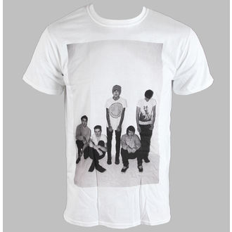 Herren T-Shirt   Bring Me The Horizon - Group Shot - White - BRAVADO EU, ROCK OFF, Bring Me The Horizon