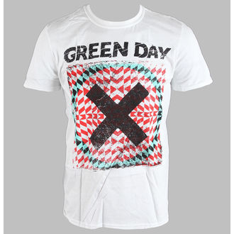 Herren T-Shirt   Green Day - Xllusion - White - BRAVADO EU, BRAVADO EU, Green Day