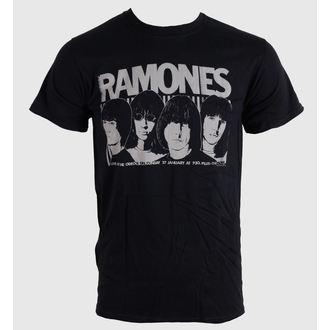 Herren T-Shirt   Ramones - Odeon Poster - Blk - BRAVADO EU, BRAVADO EU, Ramones