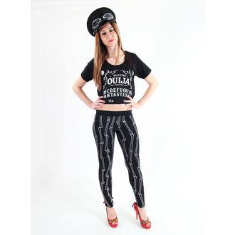 Damen T-Shirt (Top)  KILLSTAR - Ouija Crop - Black
