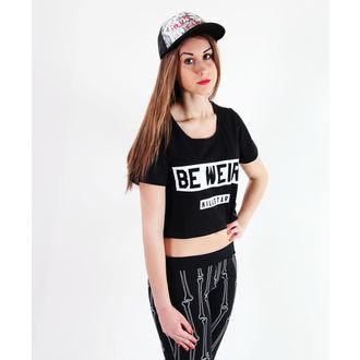 Damen T-Shirt (Top)  KILLSTAR - Be Weird Crop, KILLSTAR