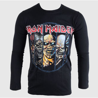 Herren Longsleeve Iron Maiden - Eddie Evolution - BRAVADO EU, BRAVADO EU, Iron Maiden