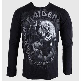 Herren Longsleeve Iron Maiden - NOTB - Grey - BRAVADO EU, BRAVADO EU, Iron Maiden