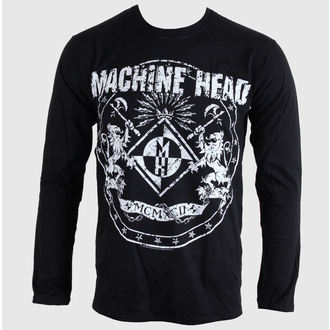 Herren Longsleeve Machine Head - Classic Crest - BRAVADO EU, BRAVADO EU, Machine Head