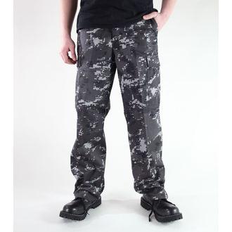 Herren Hose  MIL-TEC - US Ranger Hose - Black Digital, MIL-TEC