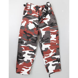 Hose Kinder MIL-TEC - US Hose - Red Camo - 12031082