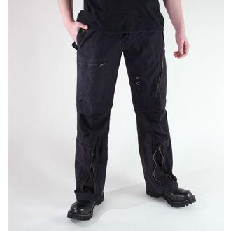 Herren Hose  MIL-TEC - Fliegerhose - Prewash Black, MIL-TEC