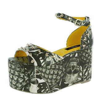 Hight Heel Sandalette IRON FIST - Pineapple Express - White, IRON FIST