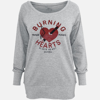 Damen Hoodie BLACK HEART - Burning, BLACK HEART