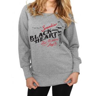 Damen Hoodie BLACK HEART - Smokins, BLACK HEART