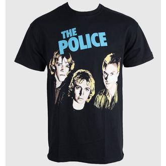 Herren T-Shirt   The Police - Outlandos D'amour - PLASTIC HEAD, PLASTIC HEAD, Police
