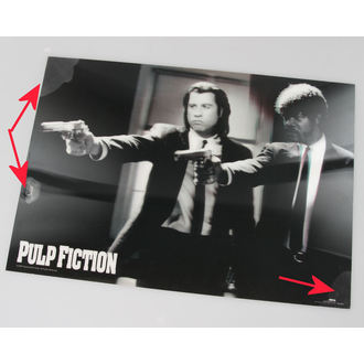 Bild 3D Pulp Fiction - Guns - Pyramid Posters - PPL70097, PYRAMID POSTERS