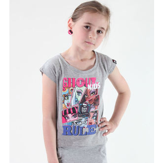 Mädchen T-Shirt Monster High - Grey, TV MANIA