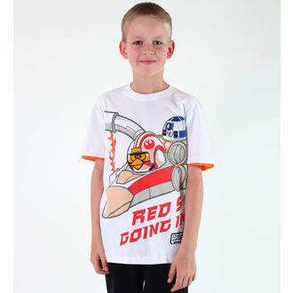 Jungen-T-Shirt  TV MANIA - Angry Birds - White, TV MANIA