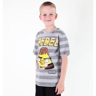 Jungen-T-Shirt  TV MANIA - Angry Birds - Grey, TV MANIA