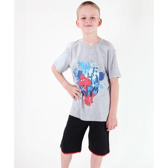 Jungen-T-Shirt  TV MANIA - Spider Man - Grey, TV MANIA