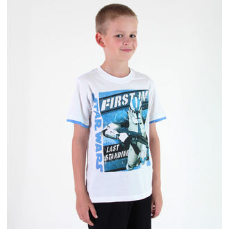 Jungen-T-Shirt  TV MANIA - Star Wars Clone - White, TV MANIA