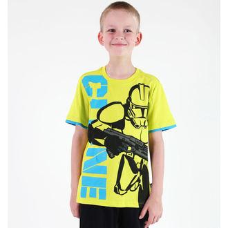 Jungen-T-Shirt  TV MANIA - Star Wars Clone - Lime, TV MANIA