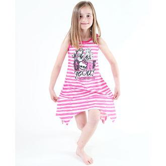 Kleid für Mädchen  TV MANIA - Monster High - White/Pink, TV MANIA