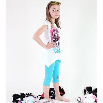 Mädchen Pyjama ( T-Shirt + Leggings) - Monster High - White, TV MANIA