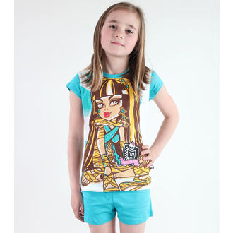 Mädchen Pyjama  TV MANIA - Monster High - White/Turquise, TV MANIA