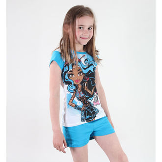 Mädchen Pyjama  TV MANIA - Monster High - White/Blue, TV MANIA