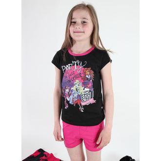 Mädchen Pyjama  TV MANIA - Monster High - Black, TV MANIA