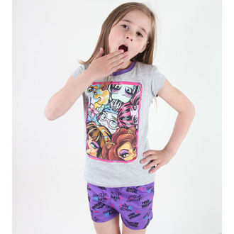 Mädchen Pyjama  TV MANIA - Monster High -Grey, TV MANIA