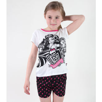 Mädchen Pyjama  TV MANIA - Monster High - White, TV MANIA