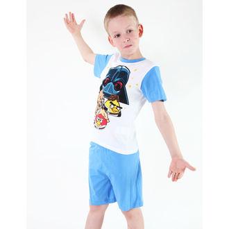 Schlafanzug für Jungen TV MANIA - Angry Birds/Star Wars - White, TV MANIA