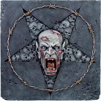 Relief Skull Pentagram