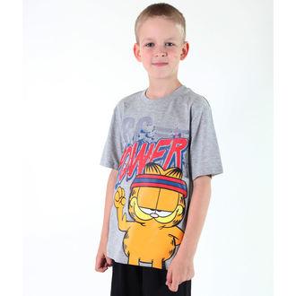 Jungen-T-Shirt  TV MANIA - Garfield - Grey, TV MANIA