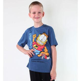 Jungen-T-Shirt  TV MANIA - Garfield - Blue, TV MANIA