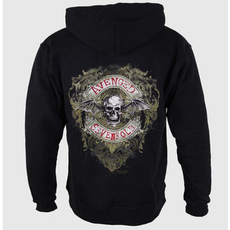 Herren Hoodie Avenged Sevenfold - Flourish Zip - ROCK OFF, ROCK OFF, Avenged Sevenfold