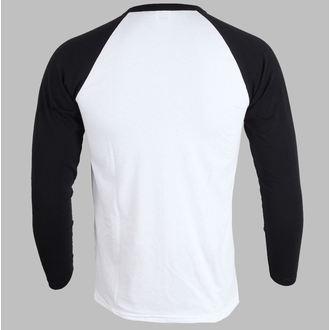 Herren T-Shirt   Langarmshirt  Iron Maiden - Piece Of Mind - White, ROCK OFF, Iron Maiden