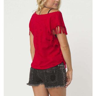 Damen T-Shirt (Top) METAL MULISHA - REAPER - RED