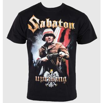Herren T-Shirt Sabaton - Uprising - Black, CARTON, Sabaton