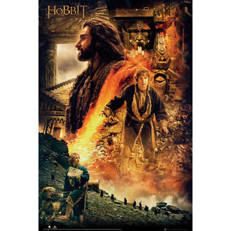 Poster The Hobbit - Desolation of Smaug Fire, GB posters