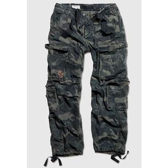 Herren Hose  SURPLUS - Airborne Vintage Trousers - Black Camo, SURPLUS