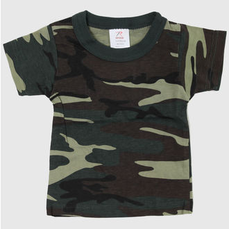 Kinder T-Shirt ROTHCO - WOODLAND CAMO, ROTHCO