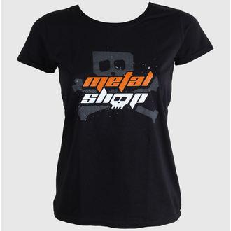 Damen T-Shirt  METALSHOP.CZ, METALSHOP