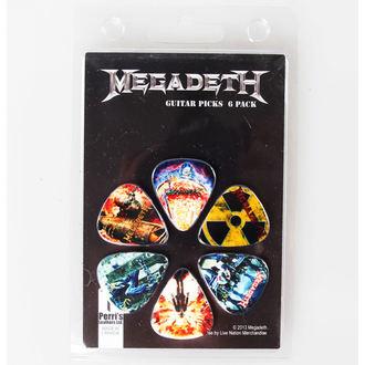 Plektren Megadeth - PERRIS LEATHERS, PERRIS LEATHERS, Megadeth