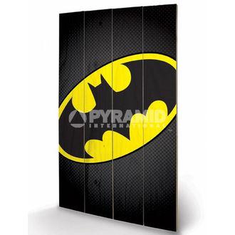 Holzbild  DC Comics - Batman Symbol - PYRAMID POSTERS, PYRAMID POSTERS