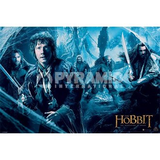 Poster Hobbit - DOS - Mirkwood - PYRAMID POSTERS, PYRAMID POSTERS