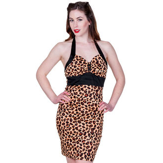 Damen Kleid BANNED  - Retro Leopard - DBN515NAT